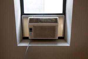 Riduzione del rumore per una finestra condizionatore d'aria