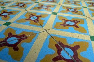 Rimozione di colla per piastrelle da pavimentazione