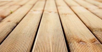 Tipi di legno per costruire un ponte