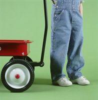 Come aggiungere una ruota di un carrello da giardino