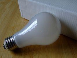 Come sostituire la lampadina in una luce apparecchio esterno