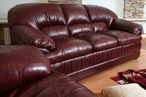 Come Refinish un sofà di cuoio