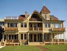 Come faccio a scegliere un colore esterno per una casa vittoriana?